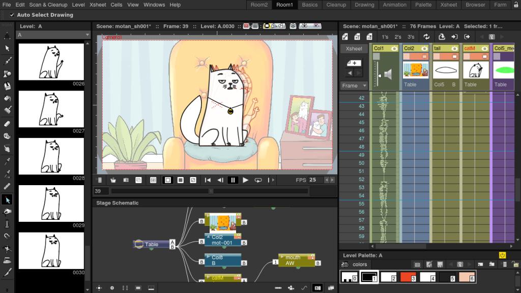 Лучшие программы для покадровой 2D анимации