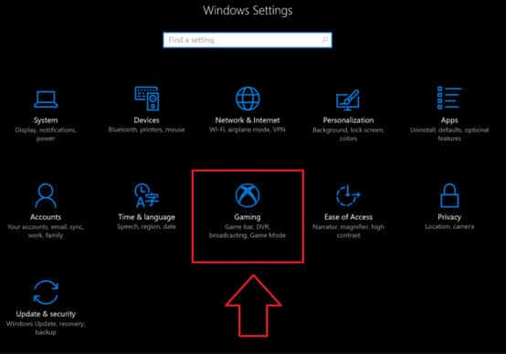 Не работает функция записи в Windows 10 Game Bar