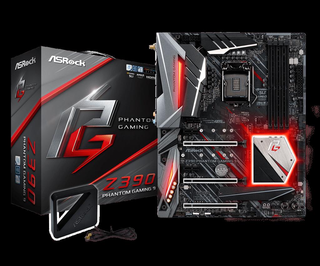 Поддерживает процессоры Intel® Core™ 8-го и 9-го поколений (Разъем 1151) Phantom Gaming 2.5 Gigabit LAN, Dual Intel® Gigabit LAN ИК цифровая ШИМ, Система питания 12 Поддержка DDR4 4266+(OC) МГц 3 PCIe 3.0 x16, 2 PCIe 3.0 x1 NVIDIA® Quad SLI™, AMD 3-Way CrossFireX™ Устройство графического вывода данных: HDMI, DisplayPort 7.1-канальный HD-кодек (Аудиокодек Realtek ALC1220) Поддержка Creative Sound Blaster™ Cinema 5 8 SATA3, 3 Ultra M.2 (PCIe Gen3 x4 & SATA3) 5 USB 3.1 Gen2 (1 фронтальный типа C, 1 задний типа A, 3 задних Type-A) 8 USB 3.1 Gen1 (4 передних, 4 задних) Wi-Fi Intel® 2T2R Dual Band 802.11ac (2.4/5ГГц), поддержка Wi-Fi сетей 1,73Гбит/с и BT v5.0 ASRock Polychrome SYNC Hyper BCLK Engine II