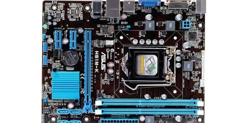 Поддерживаемые процессоры Asus h61m k