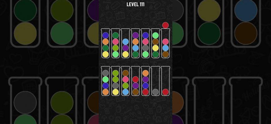 Прохождение всех уровней игры Ball Sort Puzzle