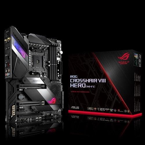 Разъем AMD AM4: для процессоров AMD Ryzen 2-го и 3-го поколений Полноценное охлаждение: чипсетный радиатор с вентилятором, алюминиевый радиатор для слота M.2, поддержка систем водяного охлаждения Мощная система питания: 14+2-фазная схема с силовыми модулями IR3555 PowIRstage, разъемы питания ProCool II, сплавные дроссели Microfine, конденсаторы Black Metallic Высокоскоростные сетевые интерфейсы: беспроводной модуль Wi-Fi 6 (802.11ax), контроллеры 2.5G Ethernet и Gigabit Ethernet, трафик-менеджер GameFirst V Функция 5-сторонней оптимизации: автоматическая настройка компьютера с помощью предустановленных профилей Для энтузиастов: высококачественная элементная база, удобное обновление BIOS и комплекс защитных технологий, включая усиленные графические слоты (технология SafeSlot) Полноцветная подсветка Aura: встроенная подсветка, разъемы для подключения светодиодных лент, технология синхронизации Aura Sync Аудиосистема ROG: кодек ROG SupremeFX S1220 и цифроаналоговый преобразователь ESS ES9023P обеспечивают великолепное качество звука при использовании различных моделей наушников