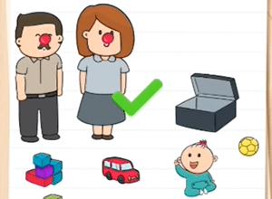Как пройти 18 уровень Brain Test 2 Семья Всезнайкиных