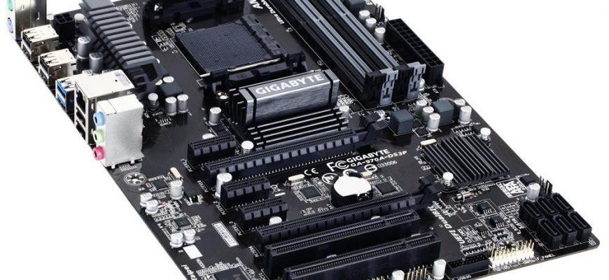 Материнская плата Gigabyte-ga-970a-ds3p: поддерживаемые процессоры и видеокарты