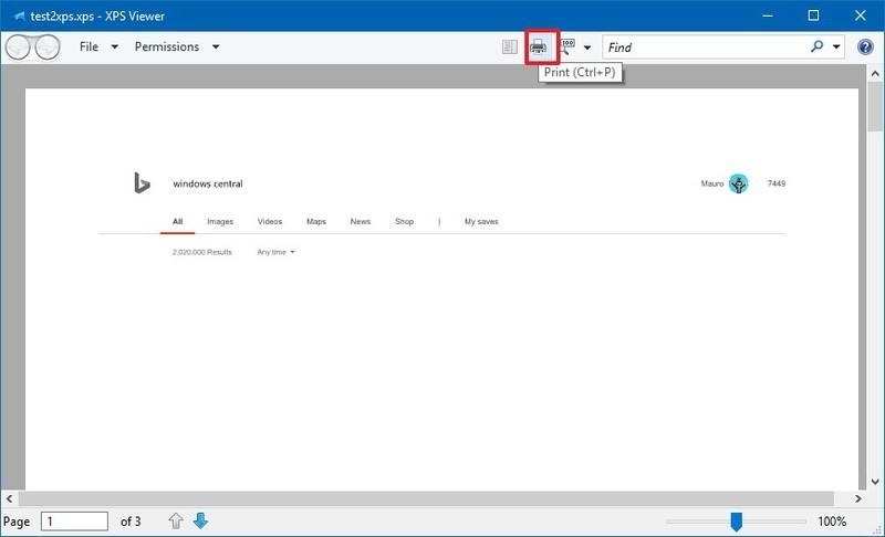 Чем открыть файл XPS в Windows 10