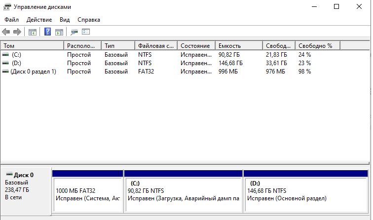 Как отформатировать жесткий диск с Windows 10