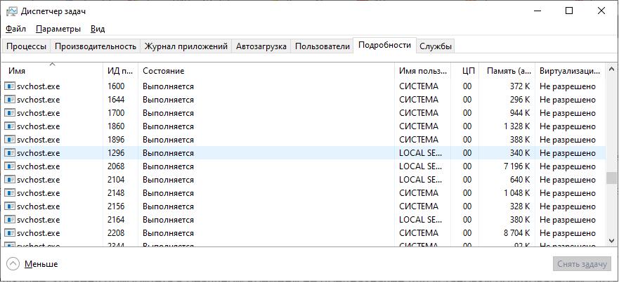 Как повысить приоритет процесса в Windows 10