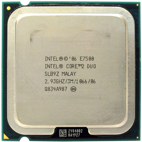 Core2 Duo E7500