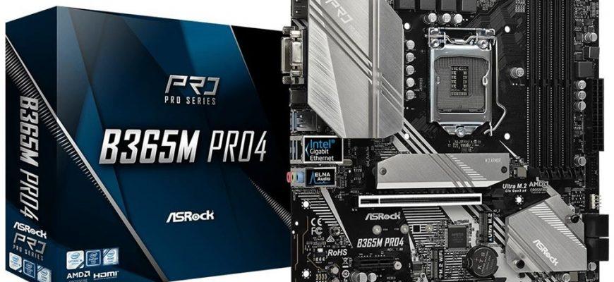 ASRock B365M Pro4